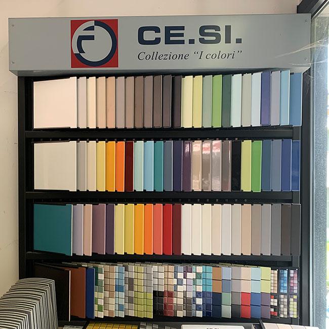 Esposizione colori pavimenti