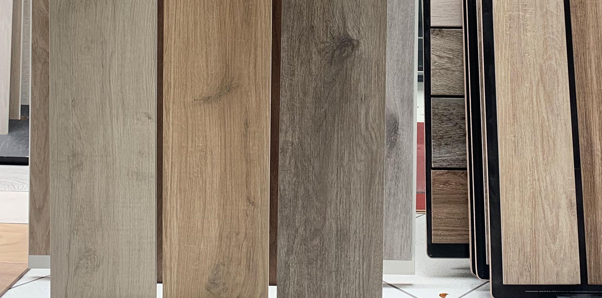 Esposizione Lastre legno