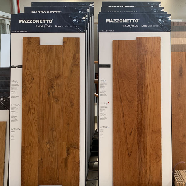Lastre legno Mazzonetto
